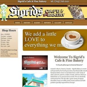 Sigrid's Cafe & Fine Bakery