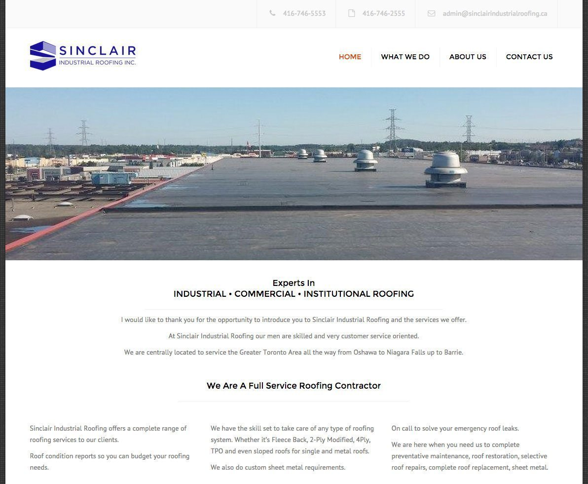 Sinclair Industrial Roofing