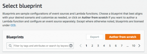 Lambda author from scratch