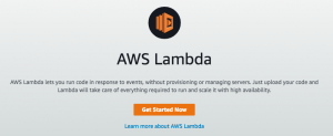 Lambda Getting Started