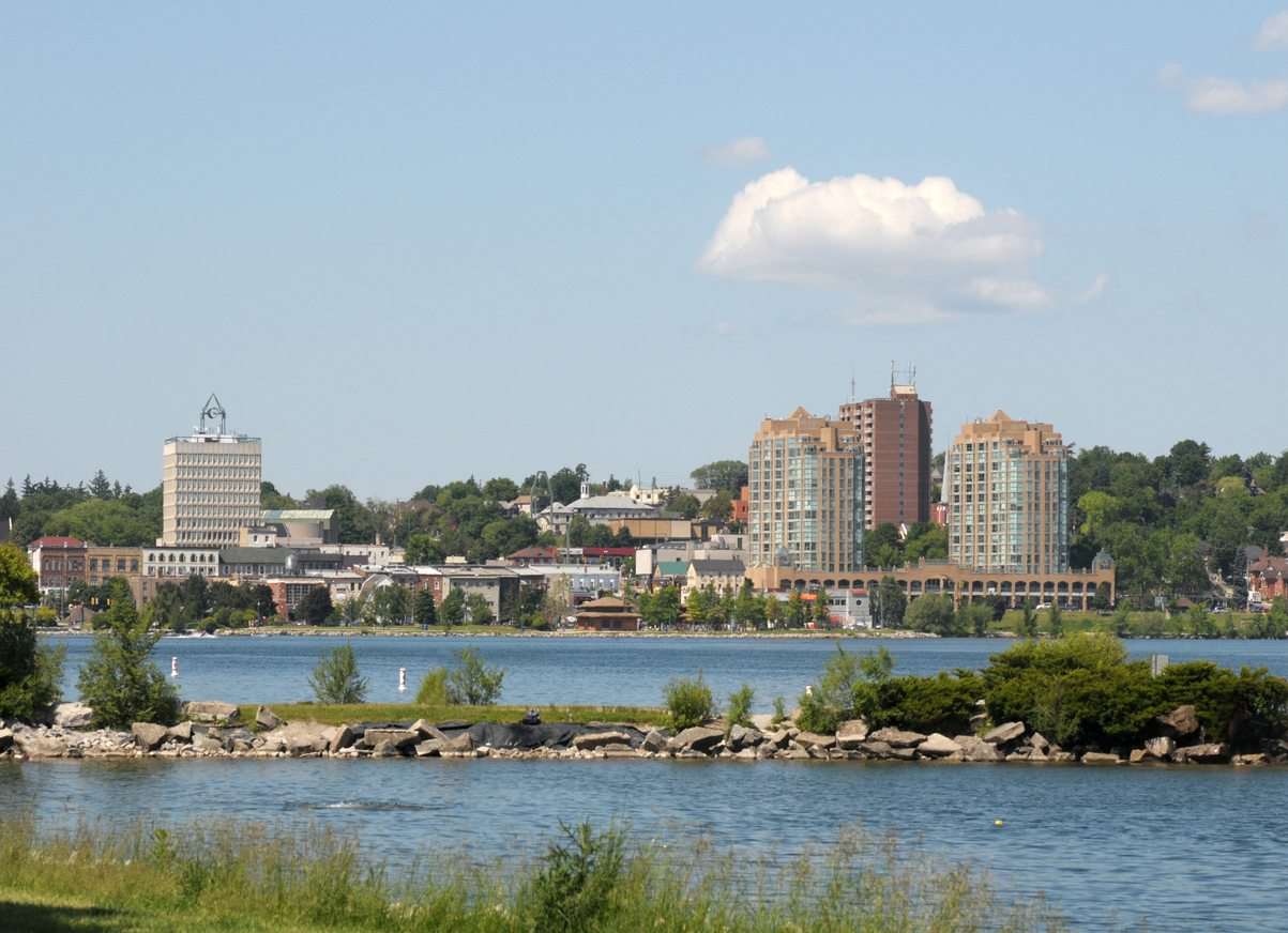 Skyline of Barrie, Ontario