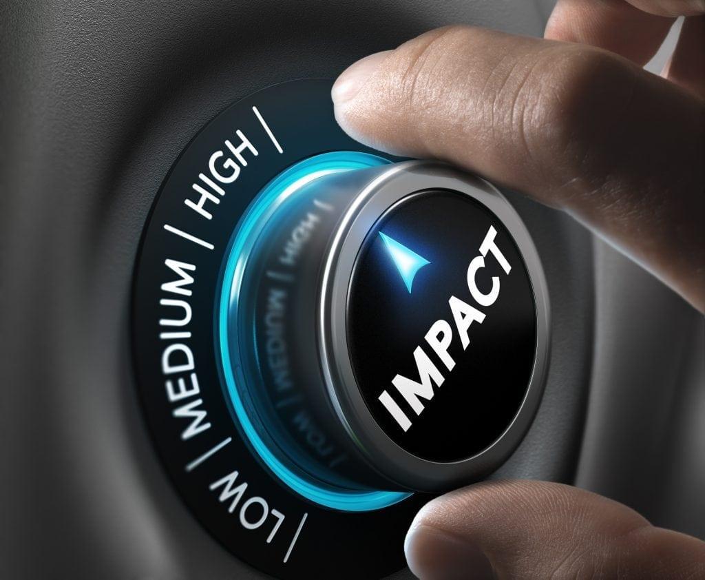 website design - impact