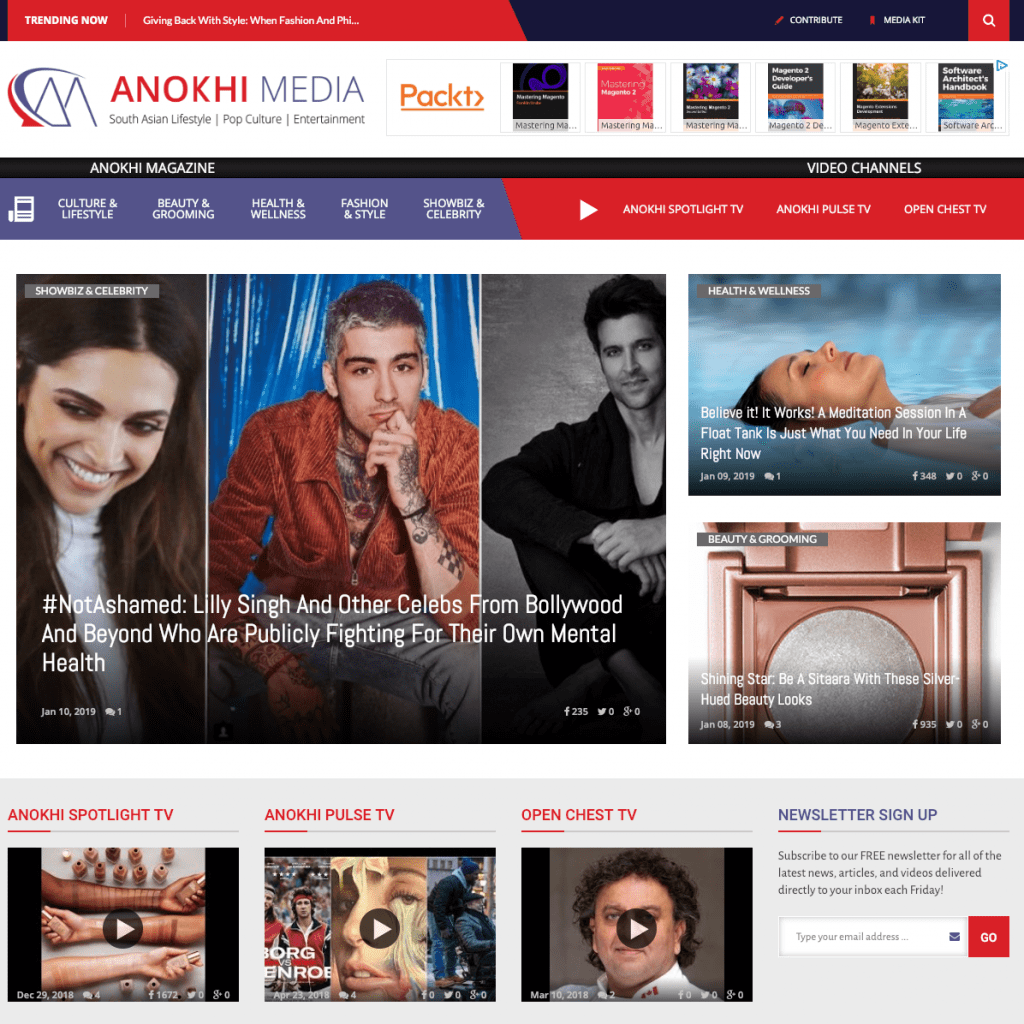 Anokhi Media home