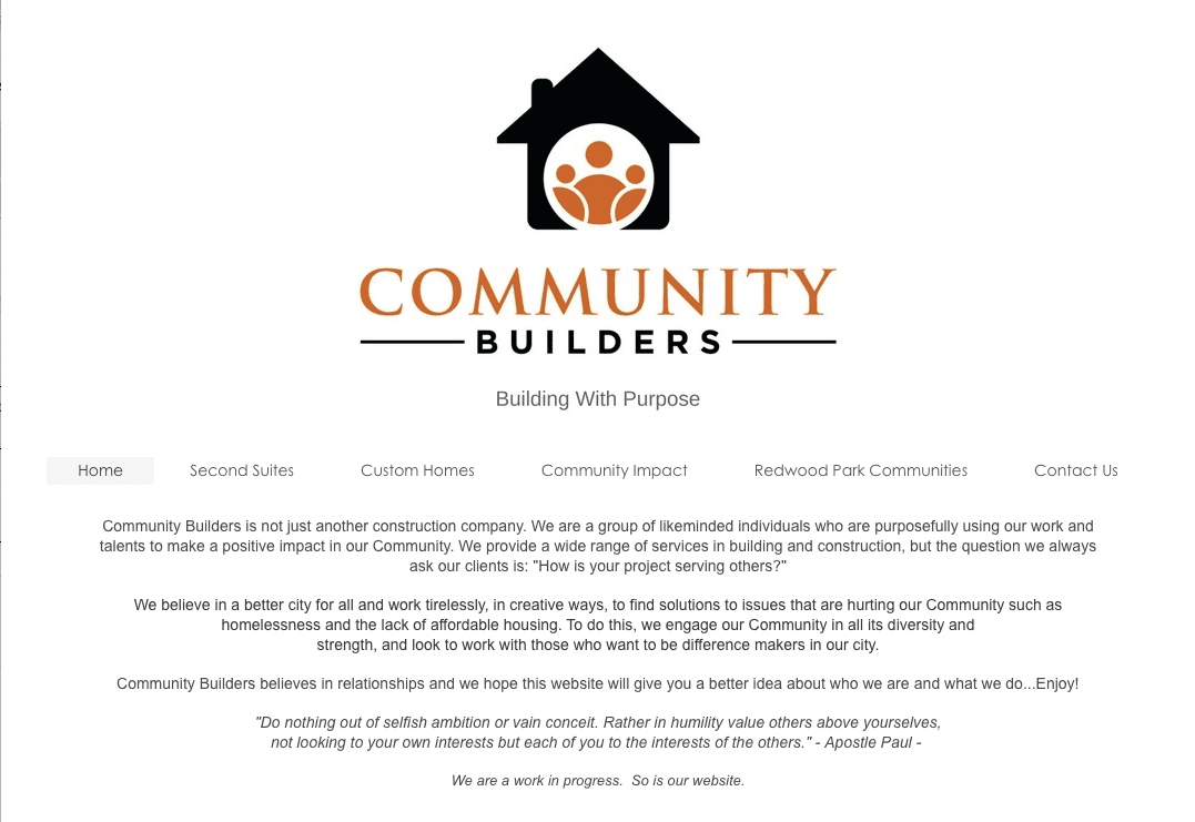 Community Builders home