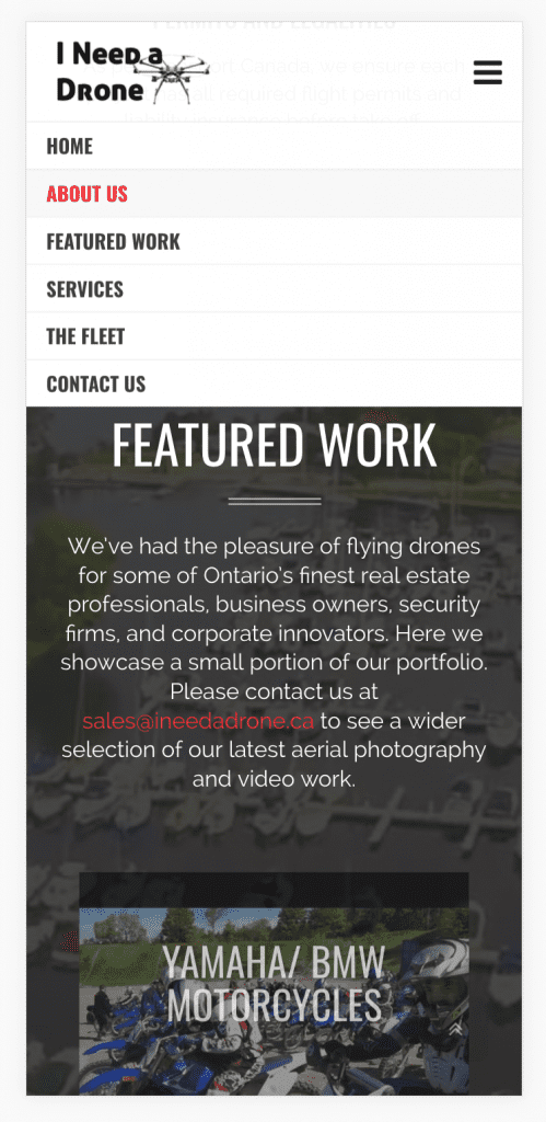 I Need A Drone