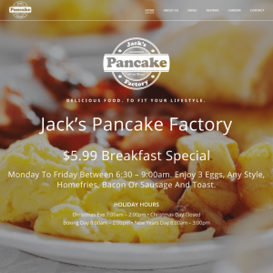 Jack's Pancake Factory home