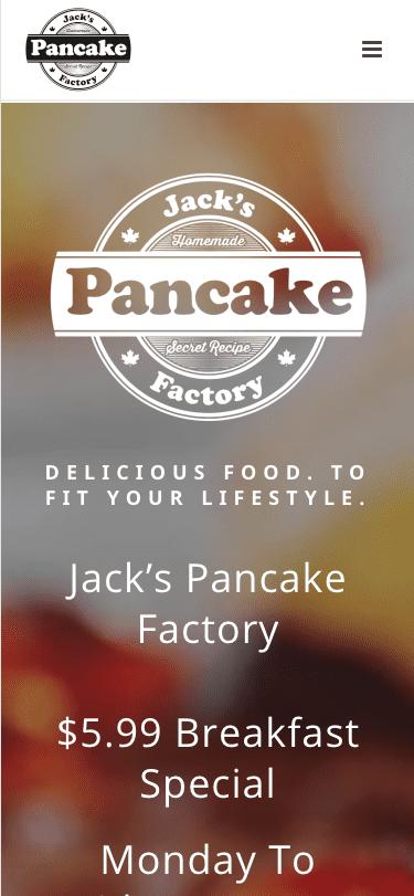 Jack's Pancake Factory mobile