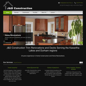 J&D Construction home