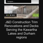 J&D Construction mobile