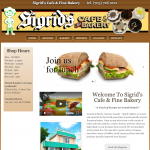 Sigrid's Cafe & Fine Bakery home