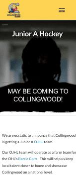 Collingwood Colts JrA Mobile