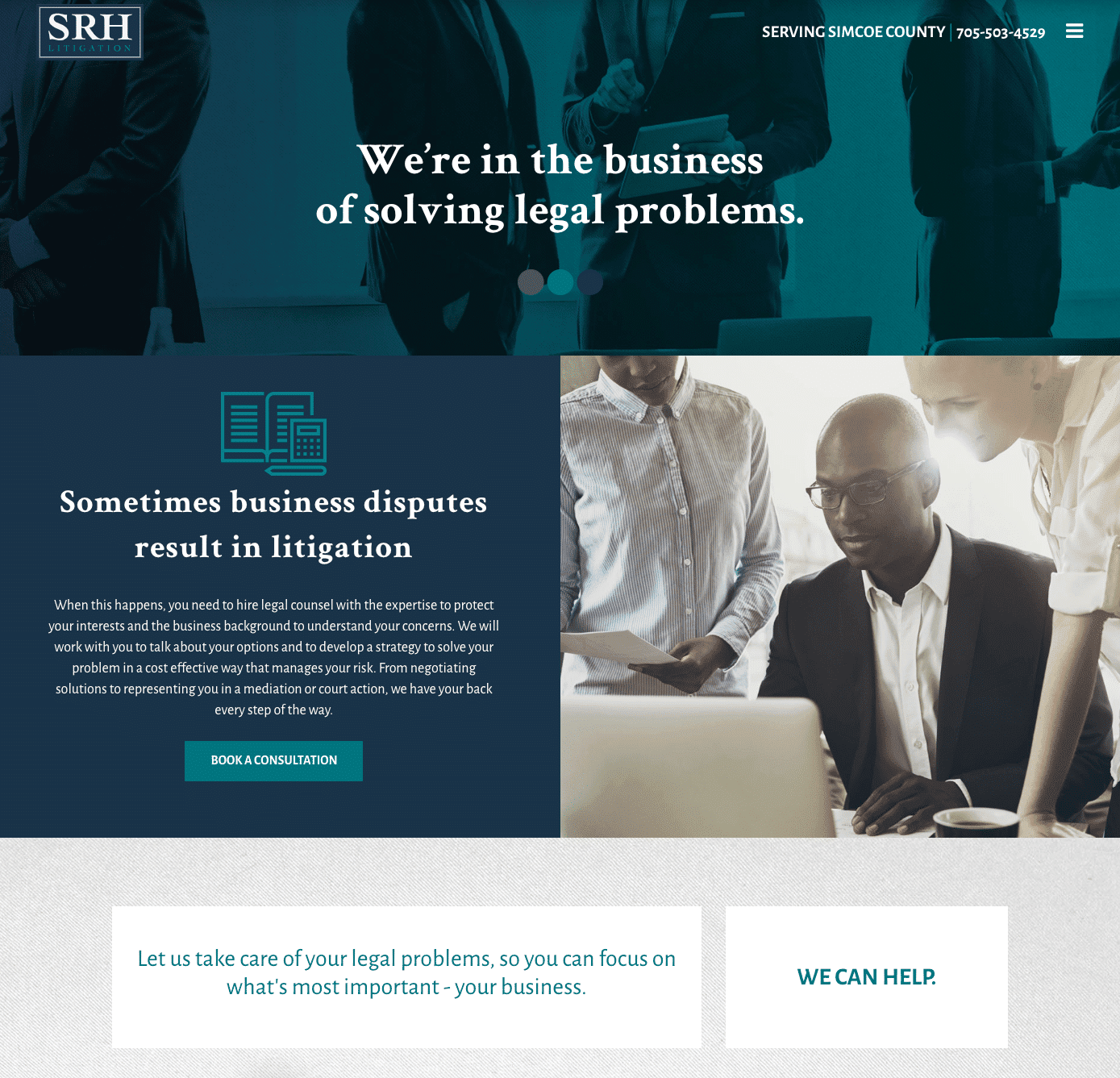 SRH Litigation Commercial