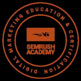 SEMRush Digital Marketing Education & Certification